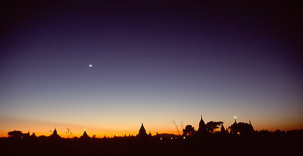 moonlight over Bagan
